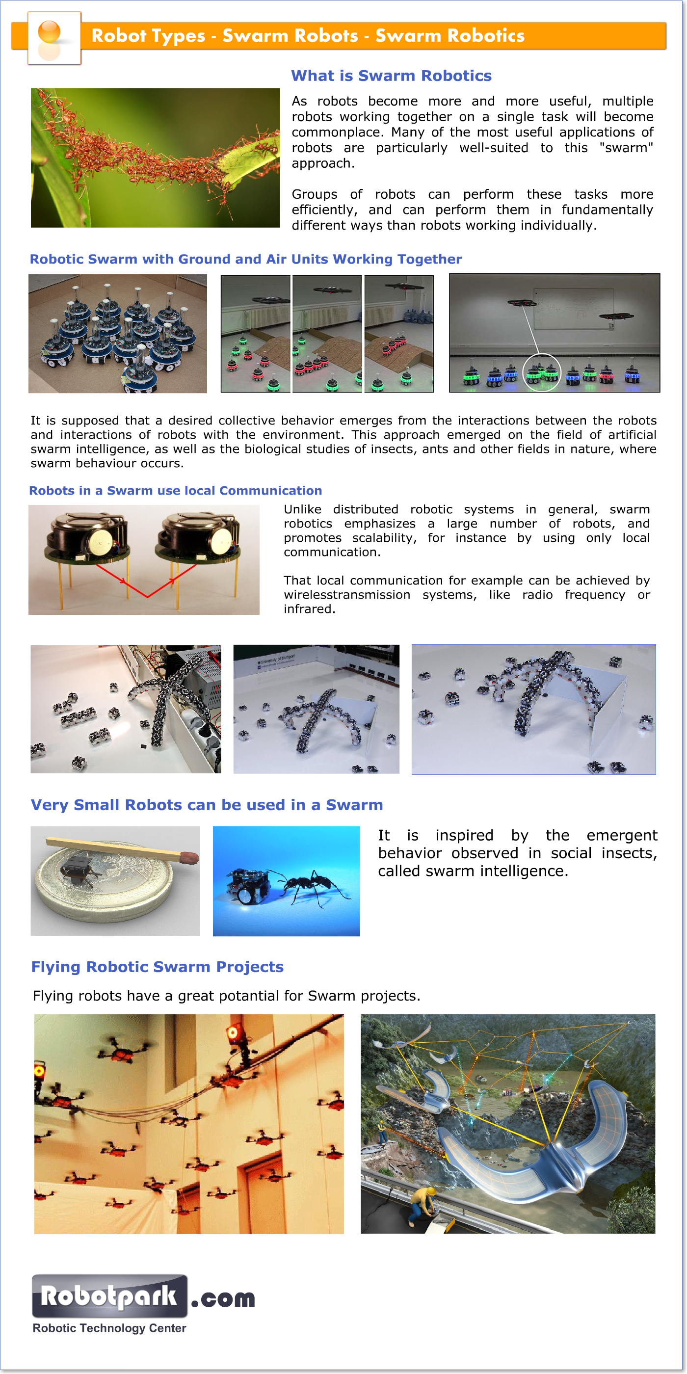 swarm robotics thesis In this paper, we present a time-discrete, incremental methodology for modeling, at the microscopic and macroscopic levels, the dynamics of distributed manipulation.