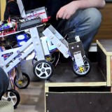 Heriot-Watt EPS Mechanical Engineering, Stair climbing Robot Shrimp 2011