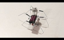 How to make a simple walking insect robot