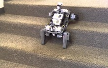 LEGO® MINDSTORMS® Education NXT Robot Climbing Stairs!