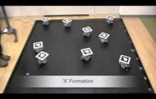 Multi-Robot Formation Control by self-made robots