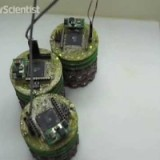 Shape-shifting robot forms from magnetic swarm