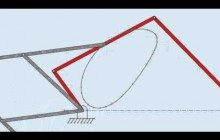 Pantograph - copying a path of point on a coupler of four bar linkage