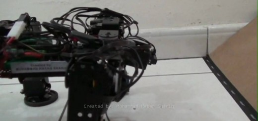 Self-Transforming Mobile Robot