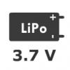 1S 3.7V LiPo Battery