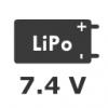 2S 7.4V LiPo Battery