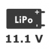 3S 11.1V LiPo Battery