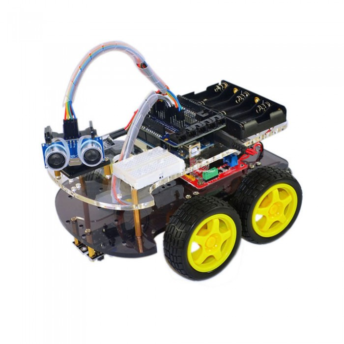 4wd robot car chassis multi functional kits with uno r3 malvernweather Images