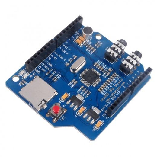 Arduino mp music shield vs