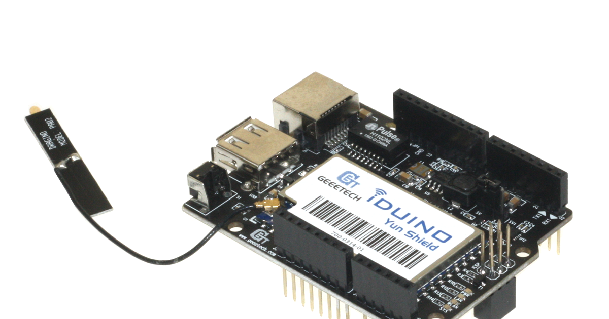 Latest Iduino Yun Shield Powerful Development Compatible for Arduino Board