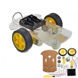 2 Wheeled Smart Car Robot Chassis for Arduino