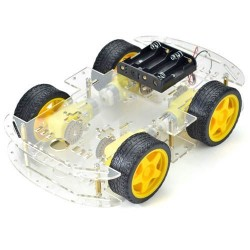 4 Wheeled Smart Car Robot Chassis for Arduino