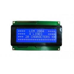 4X20 LCD Module - Blue