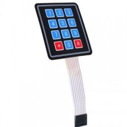 3X4 Membrane Keypad