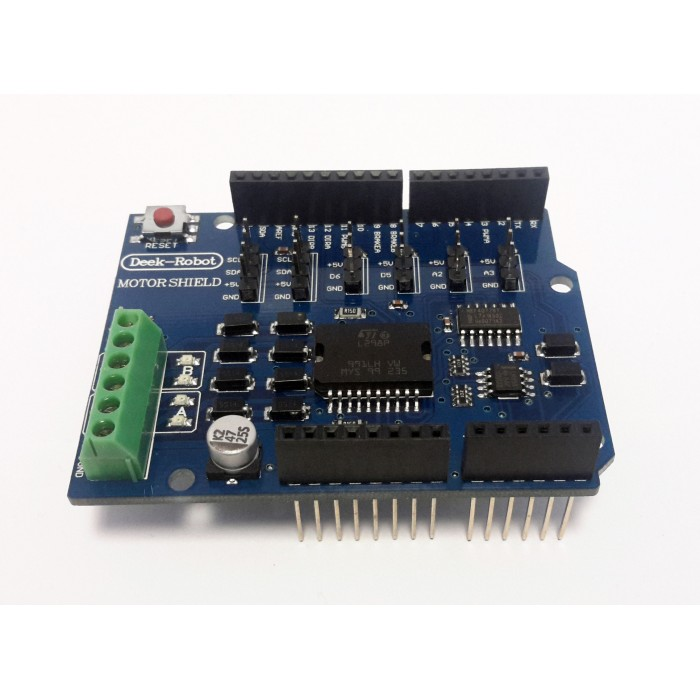 Motor Shield L298P Compatible with Arduino