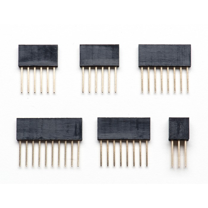 Shield stacking headers for arduino