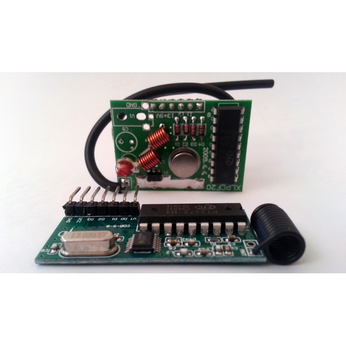 433MHz RF Long Distance 2km Transmitter- Receiver Pair