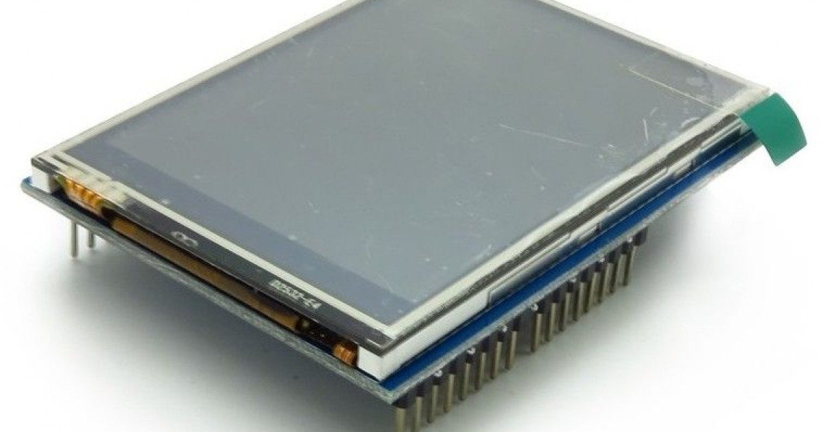 Touch tft lcd arduino shield oem