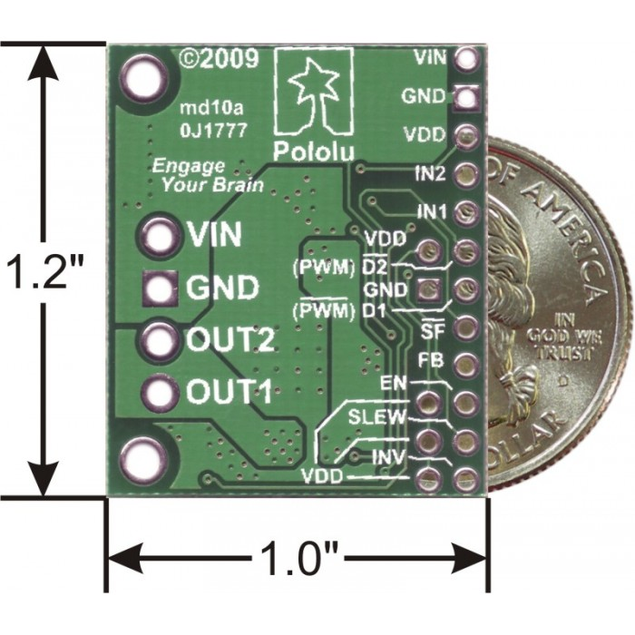Pololu mc33926 motor driver carrier for What is the motor carrier identification number