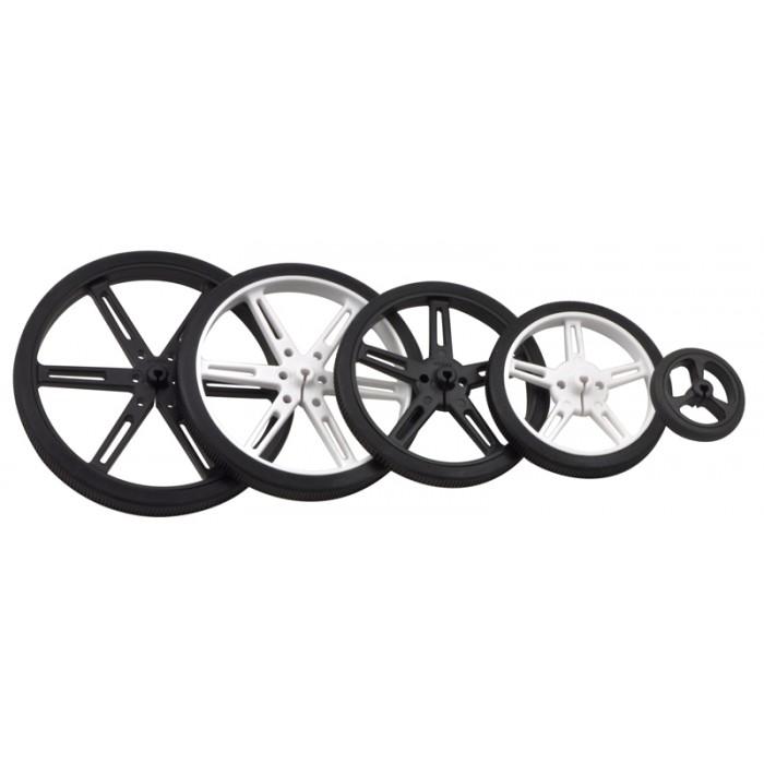 POLOLU-1425  Wheel 70×8mm Pair  Black //UK