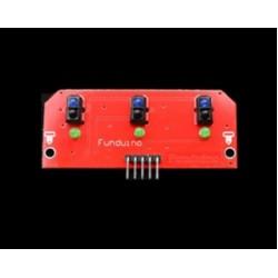 TCRT5000 3-Channel Line Tracking Sensor Module