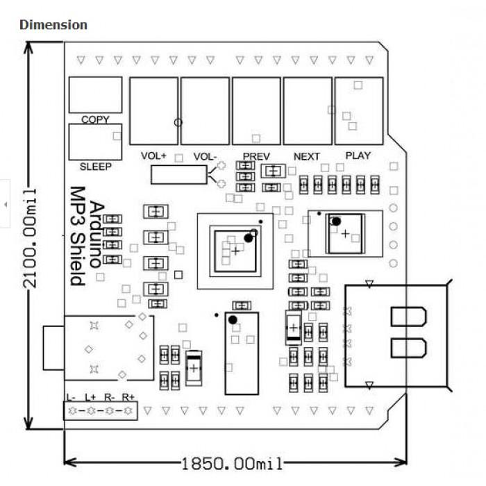 arduino mp3 player shield