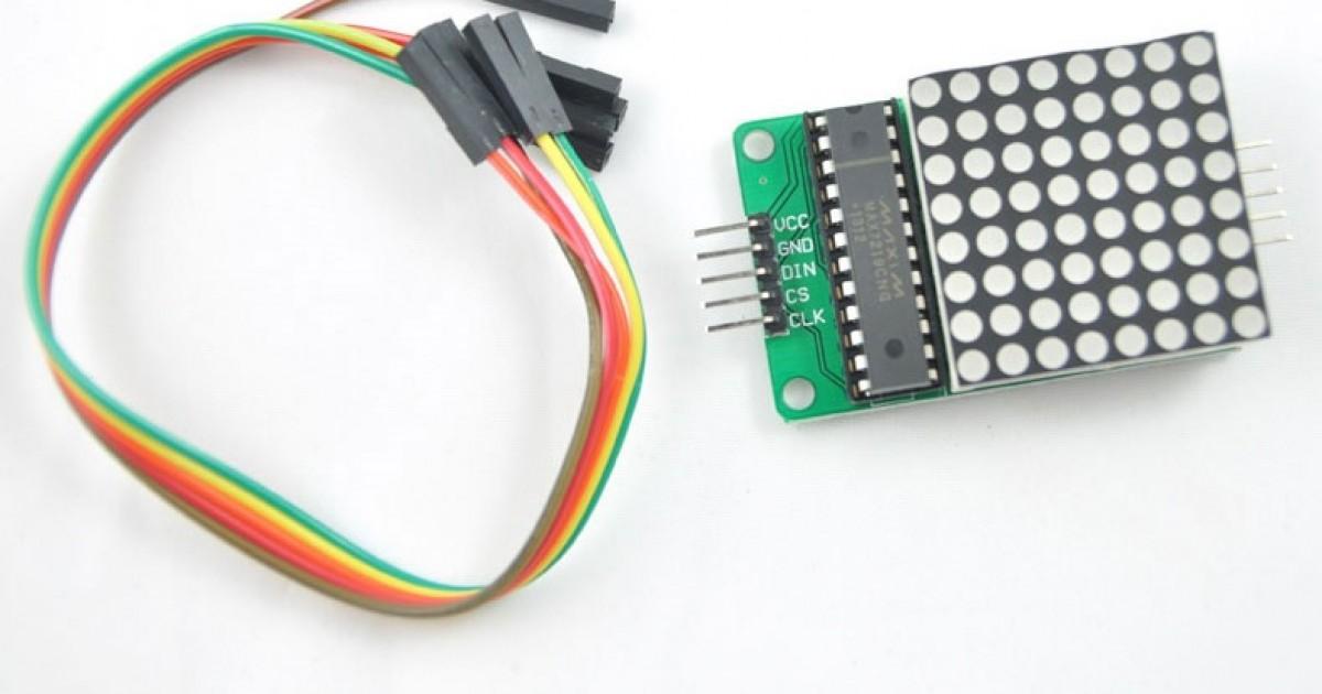 www86duinocom EduCake LED Matrix