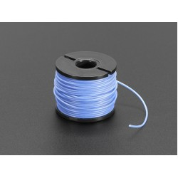 Silicone Cover Stranded-Core Wire - 50ft 30AWG Blue