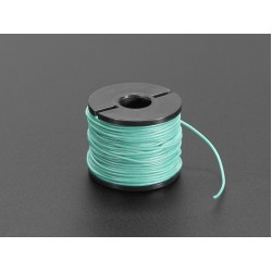 Silicone Cover Stranded-Core Wire - 50ft 30AWG Green