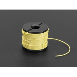 Silicone Cover Stranded-Core Wire - 50ft 30AWG Yellow