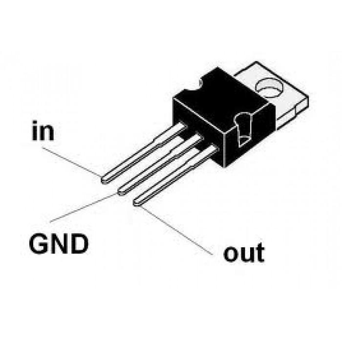 7812 12v voltage regulator circuit