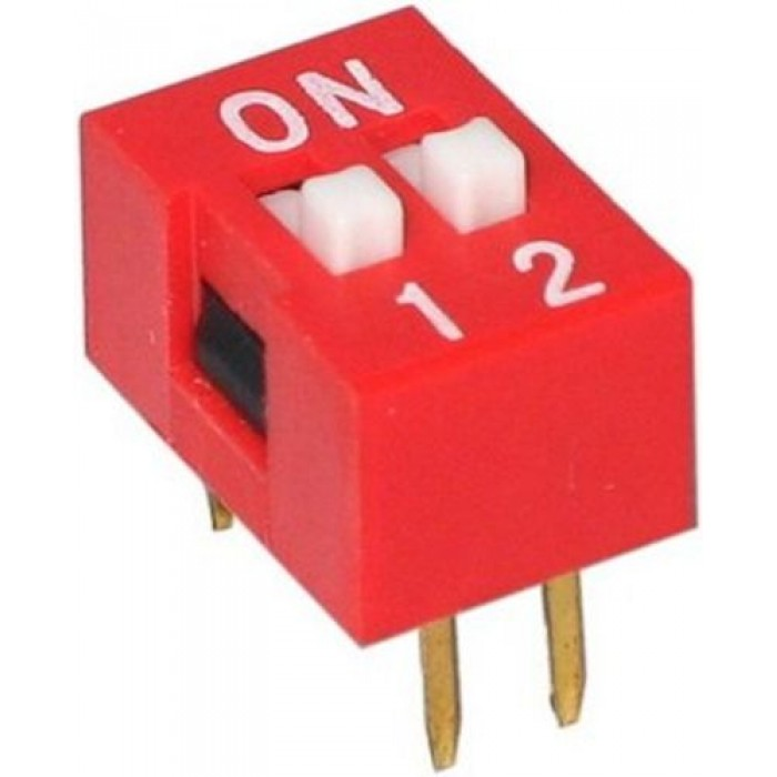 DIP Switch - 2 Pin