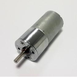 12V 500Rpm 25mm Geared DC Motor