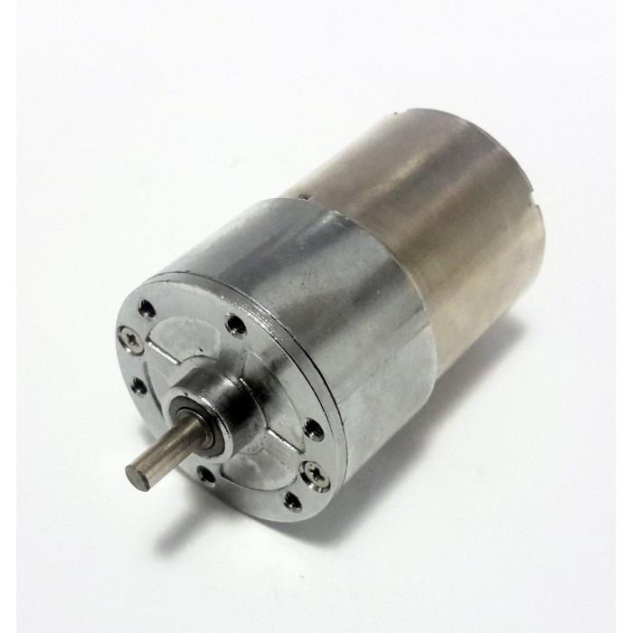 12V 300Rpm 37mm Geared DC Motor
