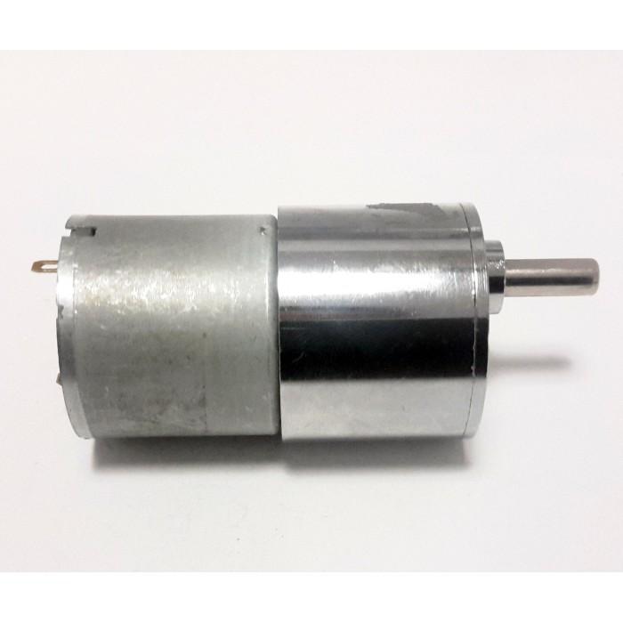 24v 10rpm 37mm Geared Dc Motor