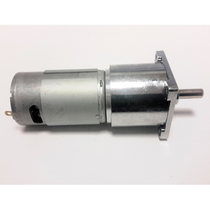 12v 100rpm 42mm Large Geared Dc Motor
