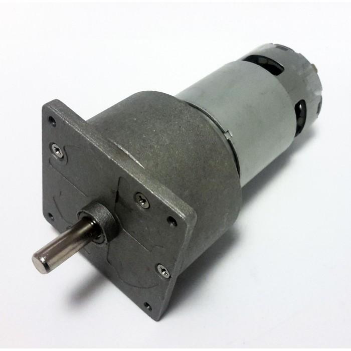 12v 10rpm 60mm geared dc motor for 12v dc gear motor
