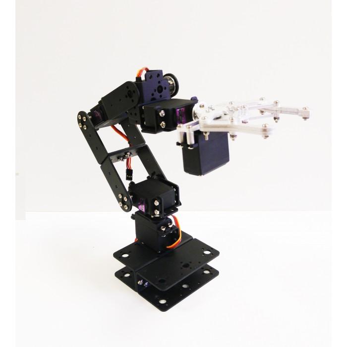 Robotpark 6 DOF Aluminum Robot Arm Kit