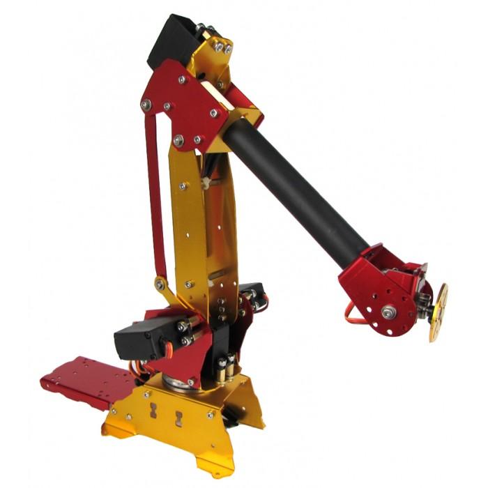 6-Axis Parallel-Mechanism Metal Robot Arm