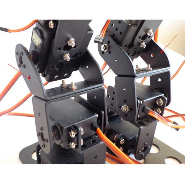 17DOF Biped Robotic Educational Robot Bracket Kit w// MG996R Servos /& Servo Horn